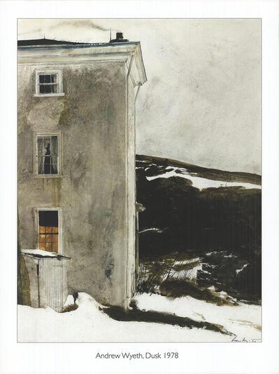 AndrewWyeth, 'Dusk', 1950