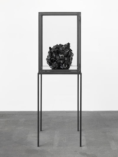 Monica Bonvicini, 'Belts Ball', 2015