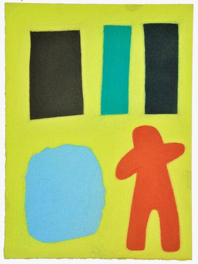 Julian Martin, 'Untitled (Figure in landscape)', 2014