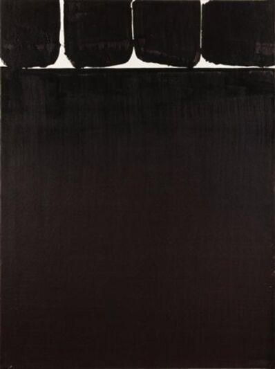 Pierre Soulages, 'Brou de noix, 76.5 x 56.5 cm, 1998', 1998