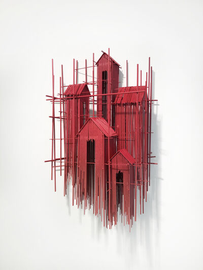 David Moreno (b.1978), 'Floating Favelas XII', 2019