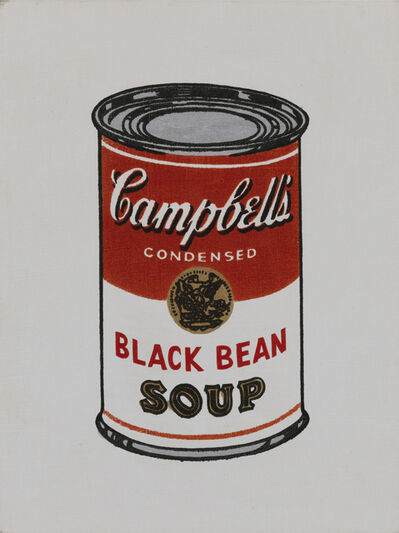 Richard Pettibone, 'Andy Warhol, Campbell Black Bean soup, 1962', 1987