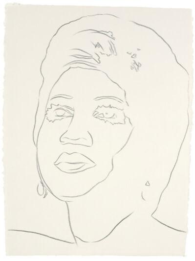 Andy Warhol, 'Aretha Franklin', ca. 1986