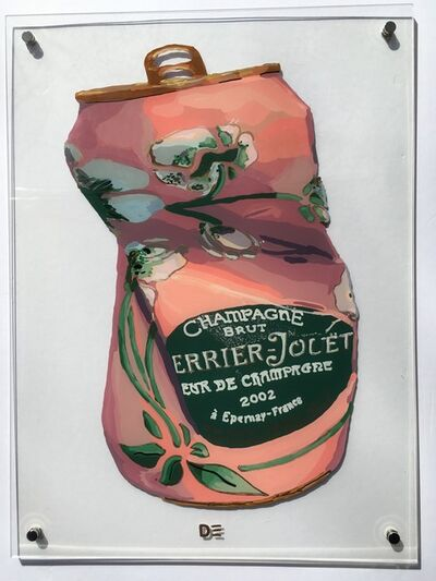 Dominique Steffens, 'Crushed Perrier Jouet Rose', 2018