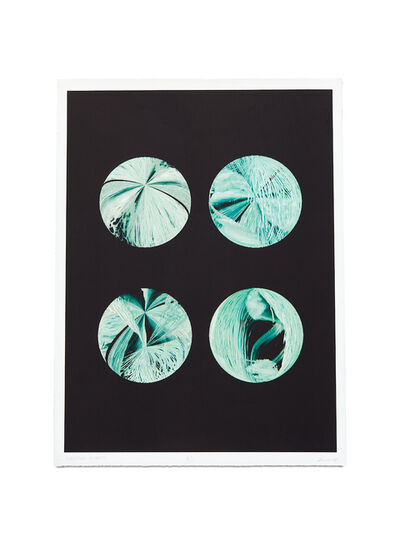 Steina Vasulka, 'Emerald Planets', 2004