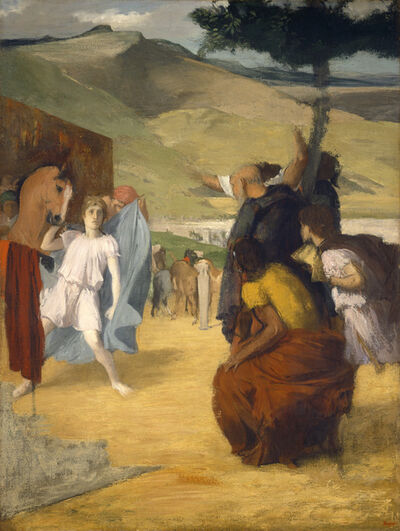 Edgar Degas, 'Alexander and Bucephalus', 1861/1862