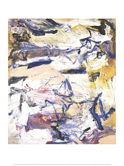 Willem de Kooning, 'North Atlantic Light', 2018