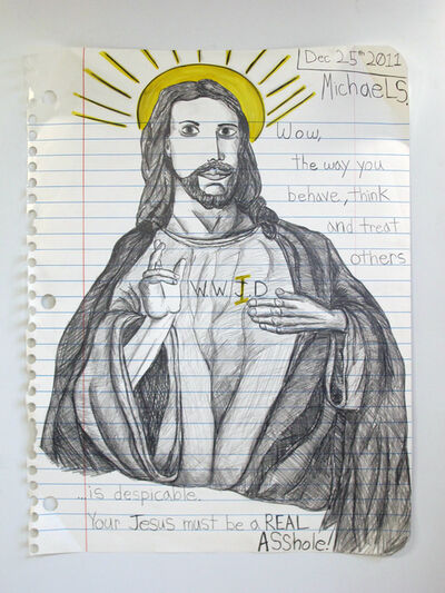 Michael Scoggins, 'Asshole Jesus', 2012
