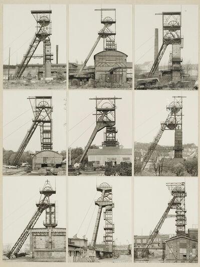 Bernd and Hilla Becher, 'Fördertürme Stahl (Winding Towers)', 1972