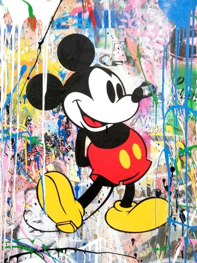 Mr. Brainwash, 'Mickey Green', 2018