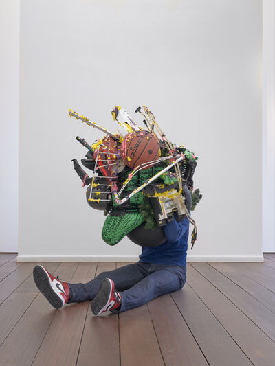 Daniel Firman, 'Sitting gathering ', 2020