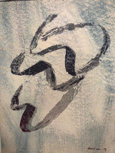Jean Fautrier, 'Annabelle nue', 1957