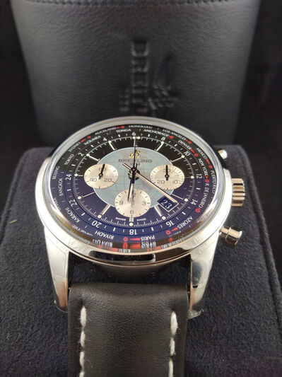 Breitling, 'Breitling Transocean Chronograph Unitime', 2018