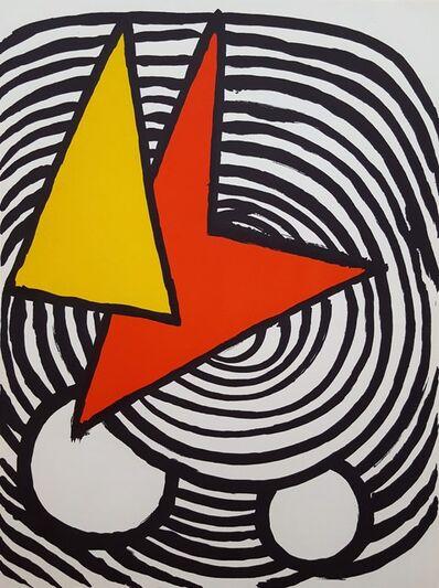Alexander Calder, 'Derriere Le Miroir No. 201 (page 11)', 1973