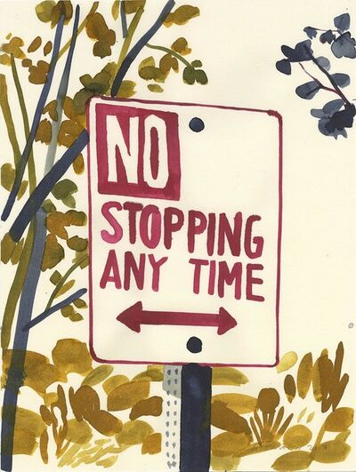 Christoph Niemann, 'No Stopping, 2017', 2017