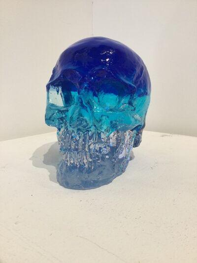 Sam Tufnell, 'Sam Tufnell, Blue Crystal Multi Layered Skull ', 2018