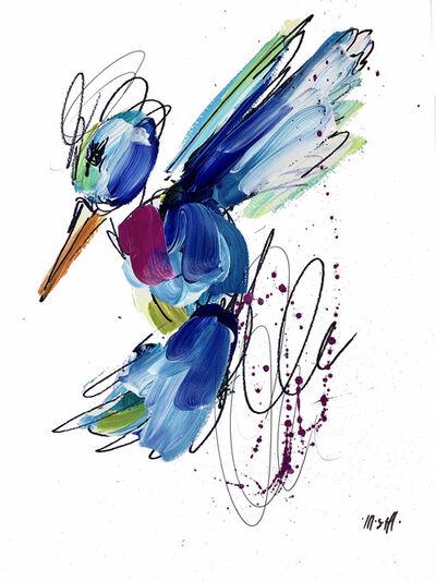 Ash Almonte, 'Pink Bow Tie Hummingbird', 2020