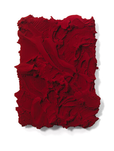 Jason Martin, 'As yet untitled  (Quinacridone Scarlet) ', 2015
