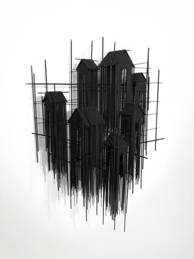 David Moreno (b.1978), 'Floating Favelas XIII', 2020