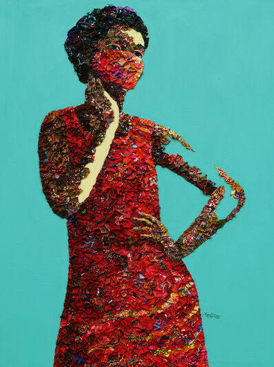 Marcellina Akpojotor, 'New Look I', 2020
