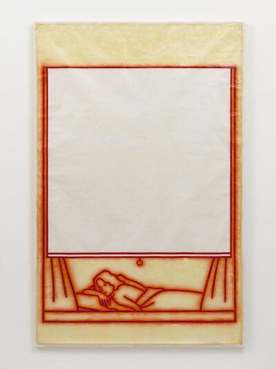 Ida Applebroog, 'Untitled (woman lying in bed)', 1982
