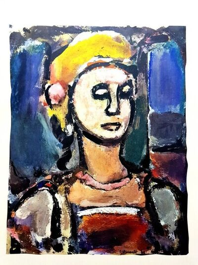 "Georges Rouault, 'Lithograph ""Margot"" after Georges Rouault', 1943"