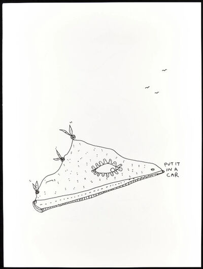 Shantell Martin, 'Put it in a Car', 2012