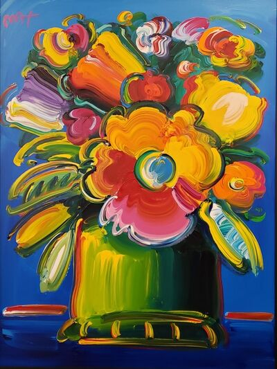 Peter Max, 'Abstract Flowers ', 2018
