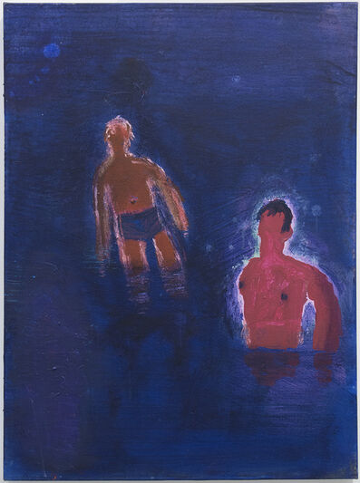 Katherine Bradford, 'Two Swimmers, Bare Chest', 2016