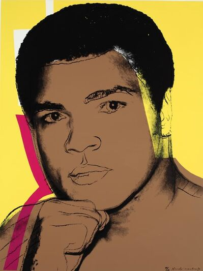 Andy Warhol, 'Muhammed Ali', 1978