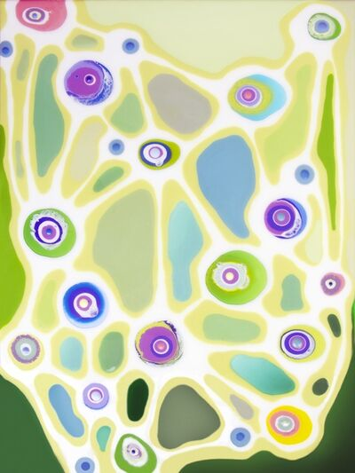 Klari Reis, 'Network Green', 2013