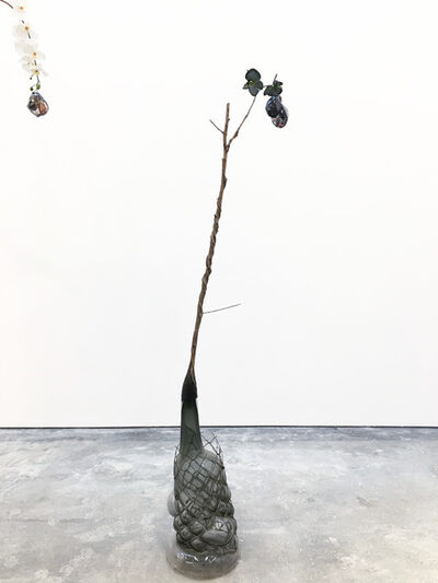 Jesse Krimes, 'Of Beauty and Decay; or, not (gray)', 2018