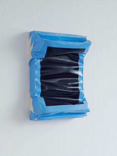 Angela de la Cruz, 'Layers - Small (Ultramarine Blue/Light Blue)', 2019