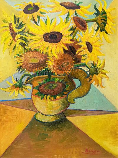 Erik Renssen, 'Sunflowers in a Pitcher  ', 2021