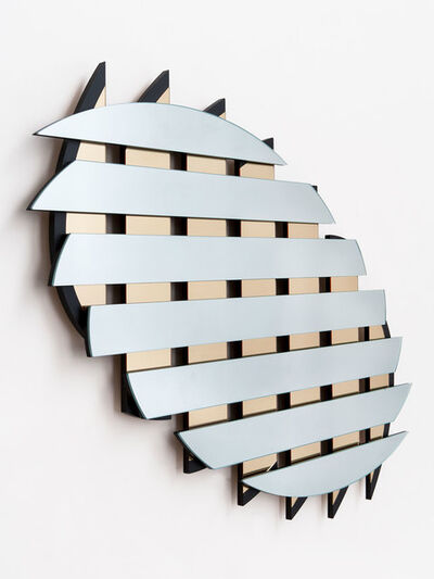 Ian Stell, 'Controlled Crush Mirror', 2016