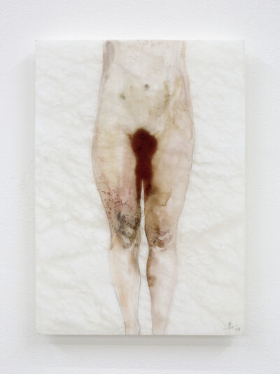 Sofie Muller, 'Alabaster drawing', 2019