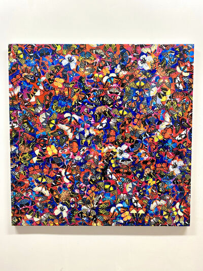 Tetsutaro Kamatani, 'PROLIFERATION- FLOWER BUTTERFLY', 2020