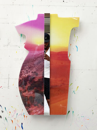 Martin Alexander Spratlen Etem, 'Oasis no.1 (Rothko on the mind in these skies)', 2021