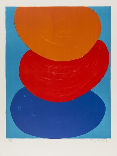 Sir Terry Frost, 'Ochre, Red and Blue (Kemp 50)', 1969