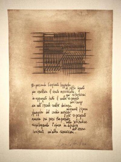 Arnaldo Pomodoro, 'Italian Embossed Etching V', 20th Century