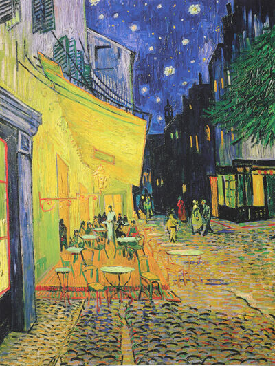 Vincent van Gogh, 'The Cafe Terrace On The Place du Forum, Arles''