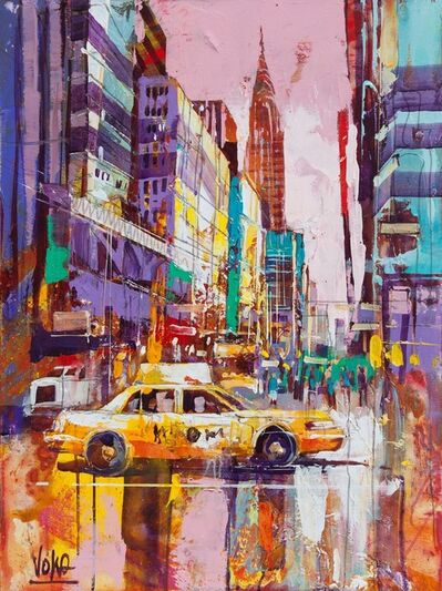 Voka, 'NYC, 80x60 cm', 2019