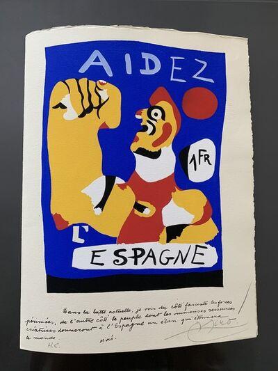 Joan Miró, 'Aidez l'Espagne', 1937