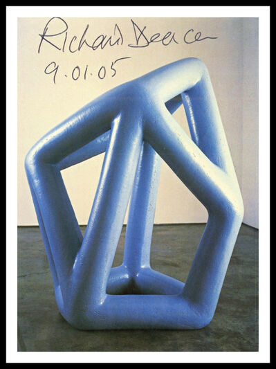 Richard Deacon, 'Kind of Blue (Hand Signed and Dated)', 2005