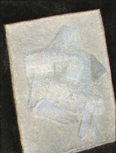 Vladimir Weisberg, 'White gloves and scarf on the white table', 1960