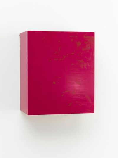 Angela de la Cruz, 'Dirty (Fuchsia)', 2011