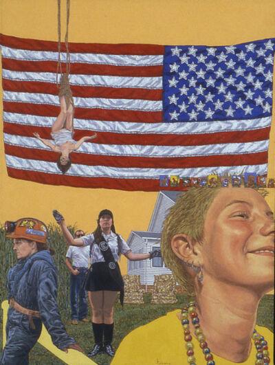 Katharine Kuharic, 'Backward's Flag', 1998