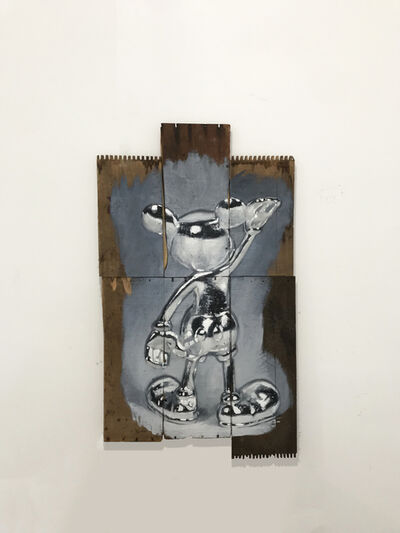 Oliver Clegg, 'Silver Mickey', 2019