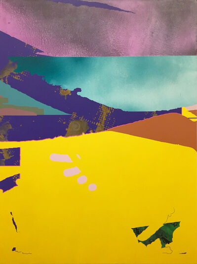 Philip Argent, 'Untitled (Lemon Snow)', 2019