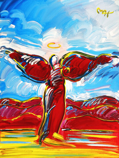 Peter Max, 'ASCENDING ANGEL II VER. II # 1', 2002